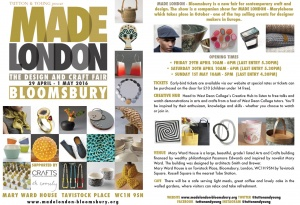 made london bloomsbury 2016e